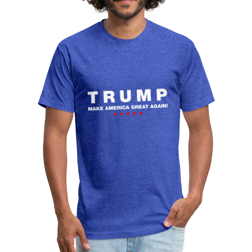 Official Trump 2016 - Fitted Cotton/Poly T-Shirt by Next Level