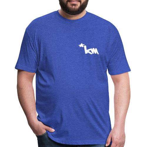 Made - Fitted Cotton/Poly T-Shirt by Next Level