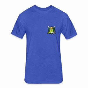 Limepally's Logo - Fitted Cotton/Poly T-Shirt by Next Level