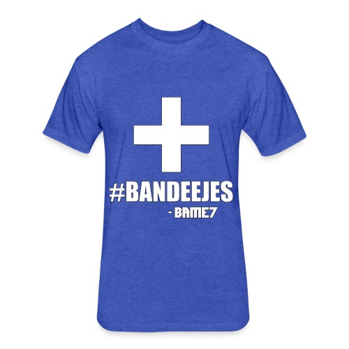 Bandeejes - Fitted Cotton/Poly T-Shirt by Next Level