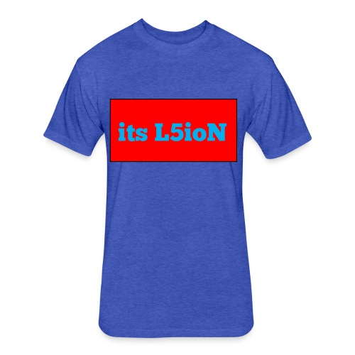 its L5ioN stuff - Fitted Cotton/Poly T-Shirt by Next Level