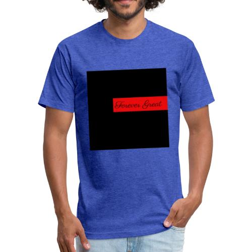 Forever Great productions - Fitted Cotton/Poly T-Shirt by Next Level
