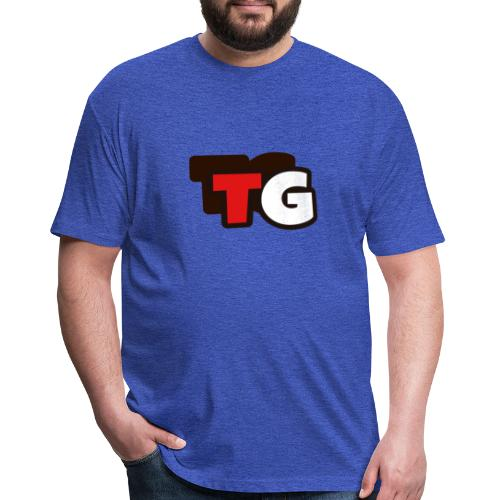 Tre Gamer Shirts - Fitted Cotton/Poly T-Shirt by Next Level