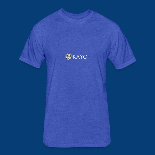 Kayo - Fitted Cotton/Poly T-Shirt by Next Level