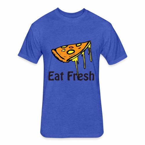 design6 - Fitted Cotton/Poly T-Shirt by Next Level