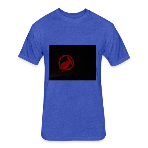 Catching fire - Fitted Cotton/Poly T-Shirt by Next Level