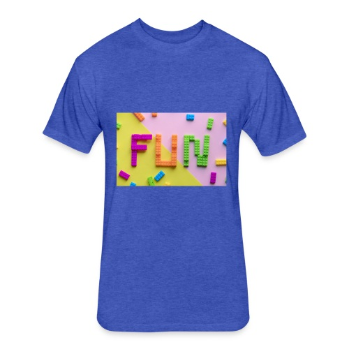 Dreamfun - Fitted Cotton/Poly T-Shirt by Next Level