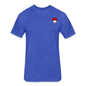 Uchiha - Fitted Cotton/Poly T-Shirt by Next Level