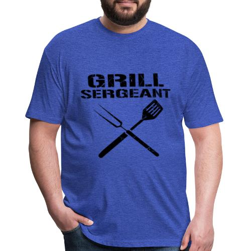 Trend Grill Sergeant Shirt - Fitted Cotton/Poly T-Shirt by Next Level
