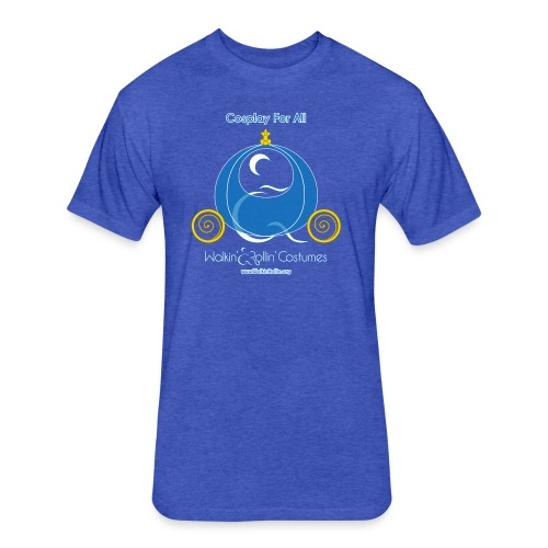 Cosplay For All: Cinderella - Fitted Cotton/Poly T-Shirt by Next Level