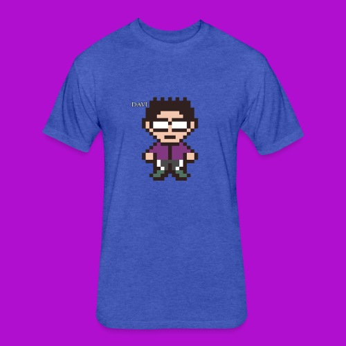 Uncle Dave Design - Fitted Cotton/Poly T-Shirt by Next Level