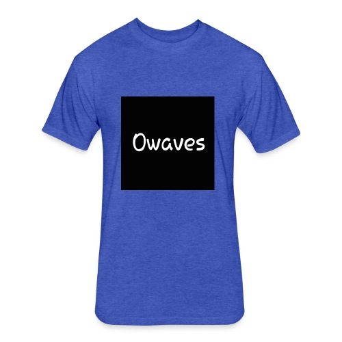 Owaves - Fitted Cotton/Poly T-Shirt by Next Level