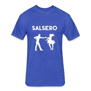 Salsero, Salsa, Latin dancing, bachata, mambo - Fitted Cotton/Poly T-Shirt by Next Level