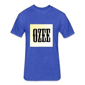 ozee - Fitted Cotton/Poly T-Shirt by Next Level