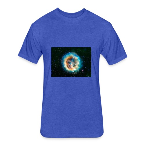 Supernova - Fitted Cotton/Poly T-Shirt by Next Level
