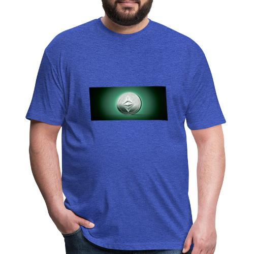 Ethereum Classic Tshirts Hoodies - Fitted Cotton/Poly T-Shirt by Next Level
