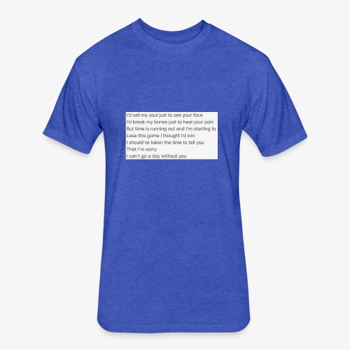Love Song - Fitted Cotton/Poly T-Shirt by Next Level