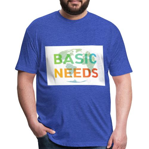 Basic needs - Fitted Cotton/Poly T-Shirt by Next Level