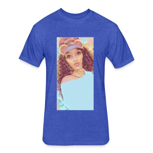 AshaSharron - Fitted Cotton/Poly T-Shirt by Next Level