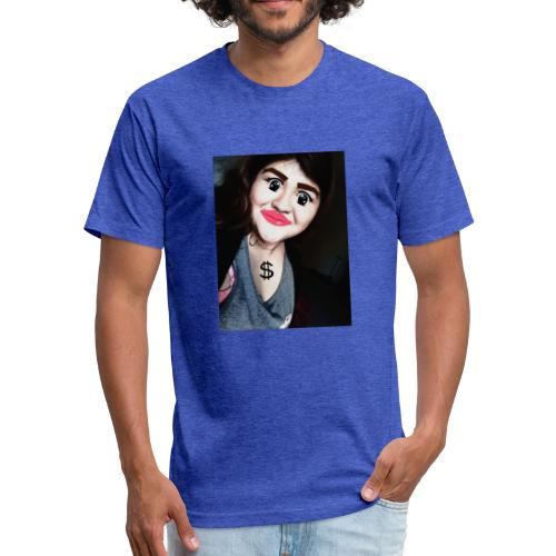 Queen_Bezz - Fitted Cotton/Poly T-Shirt by Next Level