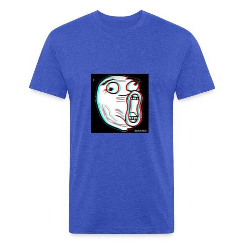 photomania a1eaf4742e9de9e3666c9d7e25c3169c - Fitted Cotton/Poly T-Shirt by Next Level