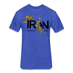 Pouncing Cheetah Iran supporters shirt - Fitted Cotton/Poly T-Shirt by Next Level