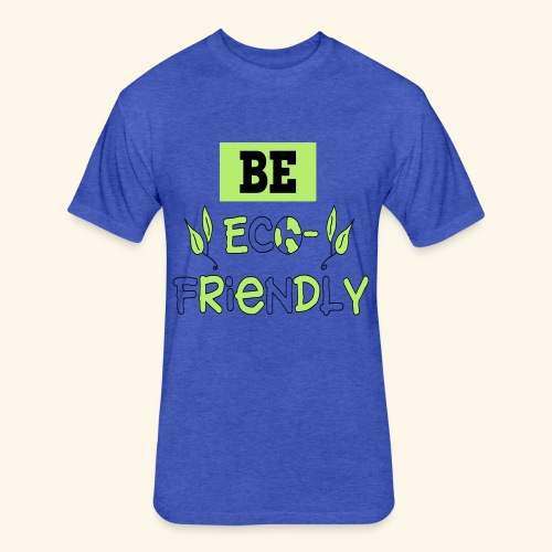 eco friendly - Fitted Cotton/Poly T-Shirt by Next Level