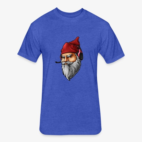 Gnome logo *face only* - Fitted Cotton/Poly T-Shirt by Next Level