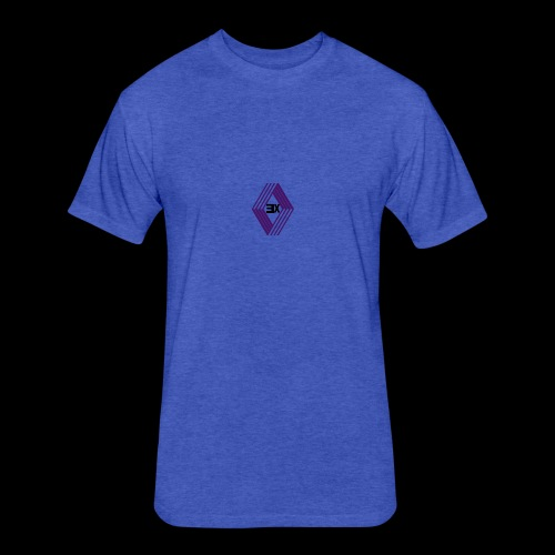 exotic logo - Fitted Cotton/Poly T-Shirt by Next Level