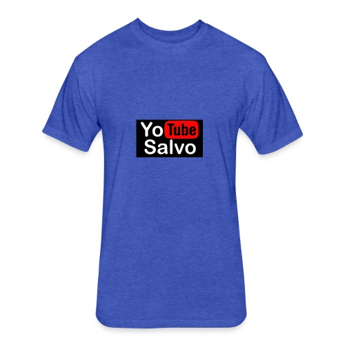 youtube - Fitted Cotton/Poly T-Shirt by Next Level