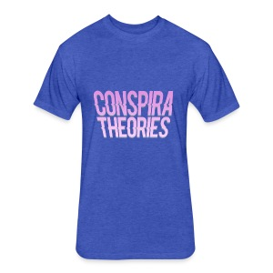 Women's - ConspiraTheories Official T-Shirt - Fitted Cotton/Poly T-Shirt by Next Level