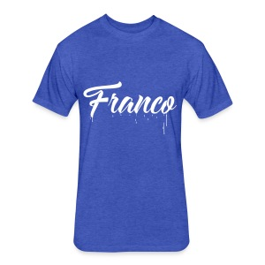 Franco Paint - Fitted Cotton/Poly T-Shirt by Next Level