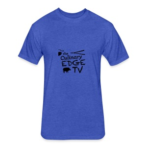 CETV Black Signature - Fitted Cotton/Poly T-Shirt by Next Level
