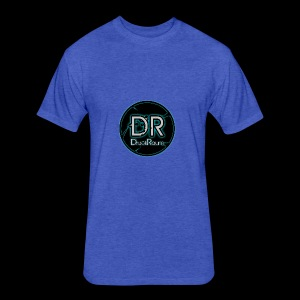 DruckRaum Logo - Fitted Cotton/Poly T-Shirt by Next Level