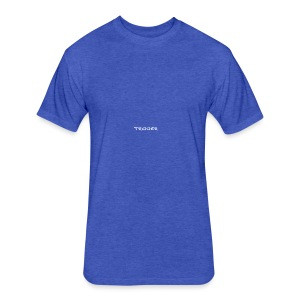 Trigger Apparel - Fitted Cotton/Poly T-Shirt by Next Level
