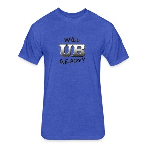 Will UB Ready - Fitted Cotton/Poly T-Shirt by Next Level