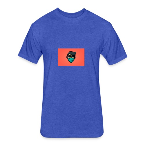 057858EE 1F3E 42D1 91A0 10148A77175E - Fitted Cotton/Poly T-Shirt by Next Level
