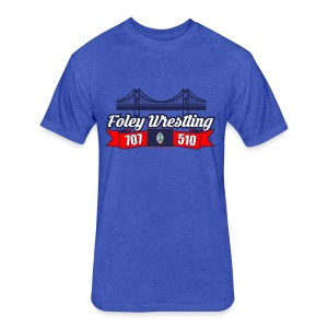Foley Wrestling - Fitted Cotton/Poly T-Shirt by Next Level