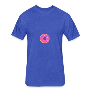 WET DOUGHNUT FILMS - Fitted Cotton/Poly T-Shirt by Next Level