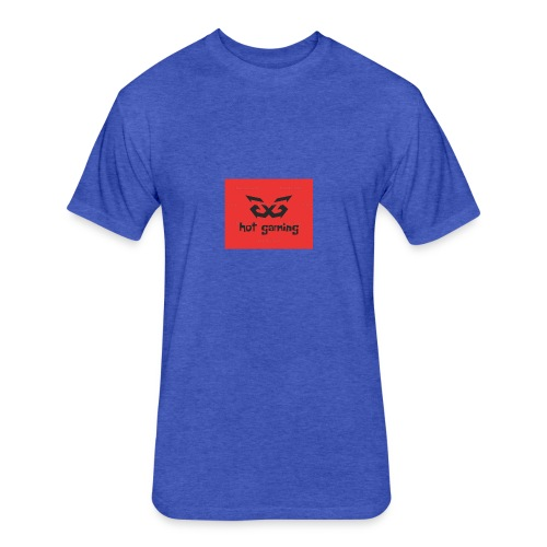 hot gaming - Fitted Cotton/Poly T-Shirt by Next Level