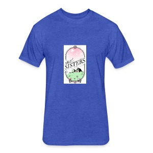 The Able Sisters - Fitted Cotton/Poly T-Shirt by Next Level