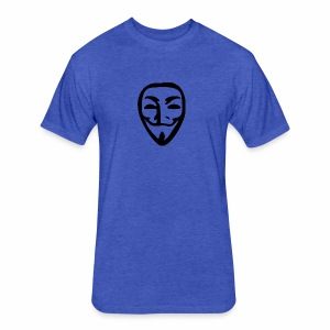 anonymous - Fitted Cotton/Poly T-Shirt by Next Level