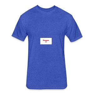Thompson TV - Fitted Cotton/Poly T-Shirt by Next Level