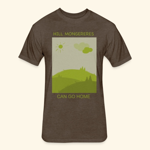 Hill mongereres - Fitted Cotton/Poly T-Shirt by Next Level