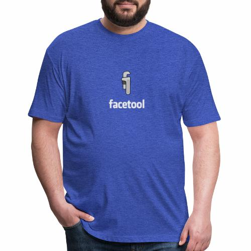 facetool - Fitted Cotton/Poly T-Shirt by Next Level
