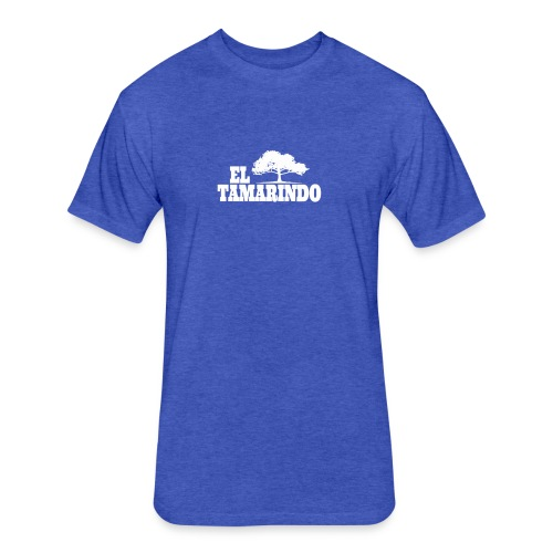 El Tamarindo Tree 2 White - Fitted Cotton/Poly T-Shirt by Next Level