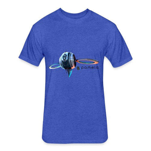 P.A.M.E.L.A. Observer - Fitted Cotton/Poly T-Shirt by Next Level