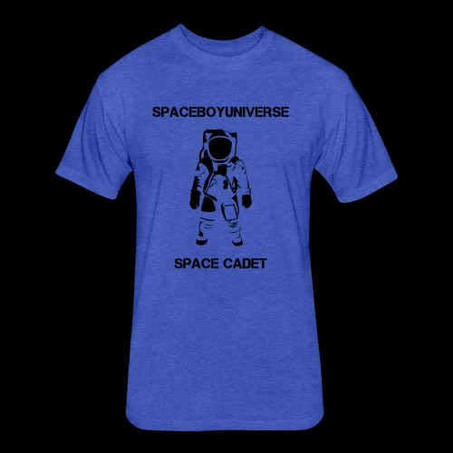 Spaceboy Universe Astronaut - Fitted Cotton/Poly T-Shirt by Next Level