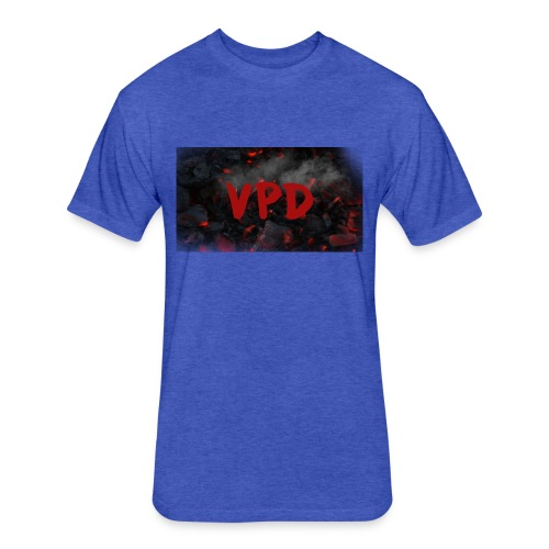 VPD Smoke - Fitted Cotton/Poly T-Shirt by Next Level