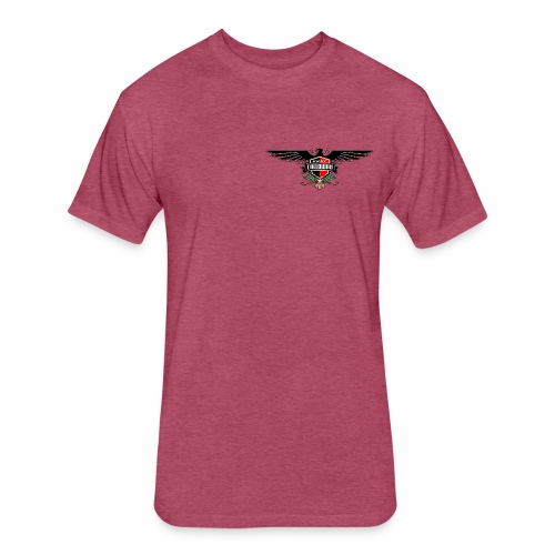 Dane Calloway American Thunderbird Logo - Fitted Cotton/Poly T-Shirt by Next Level